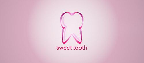 sweet tooth logo design