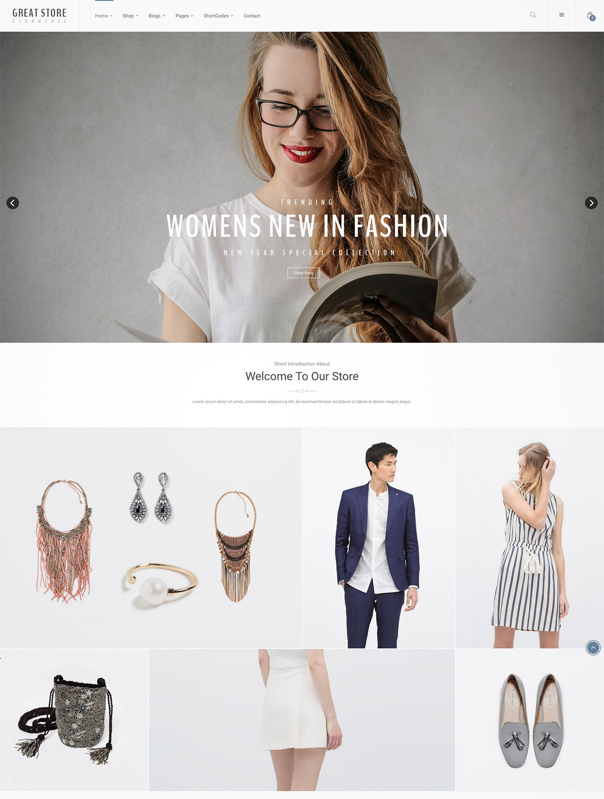 wordpress theme woocommerce