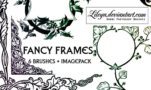 frames photoshop brushes