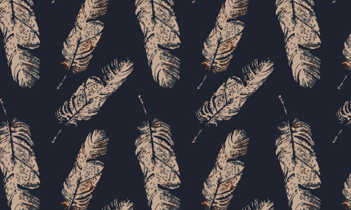 free feather patterns