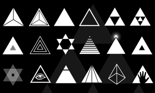 triangle photoshop brushes free