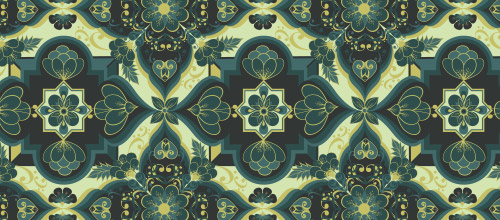 seamless arabesque patterns