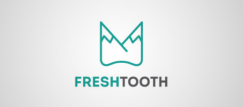 fresh tooth logo