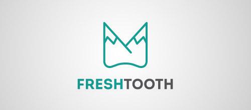 fresh tooth logo