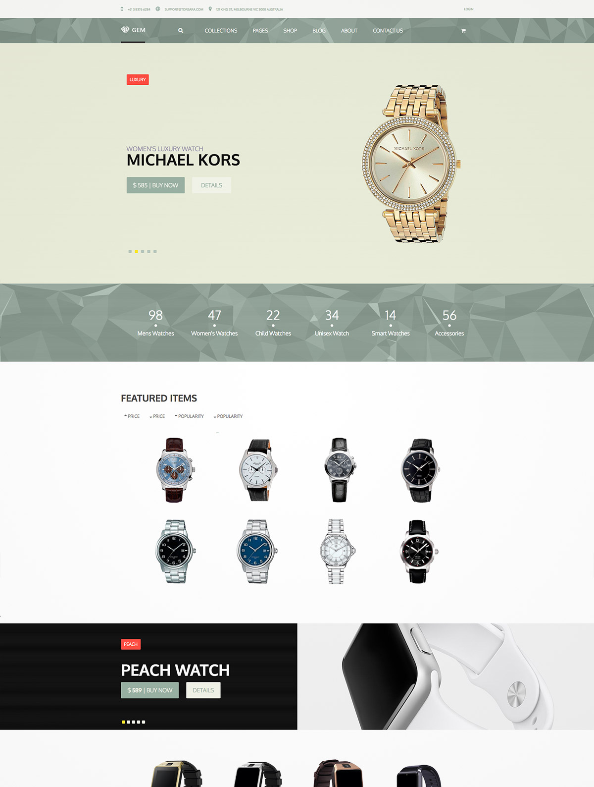 luxury ecommerce themes