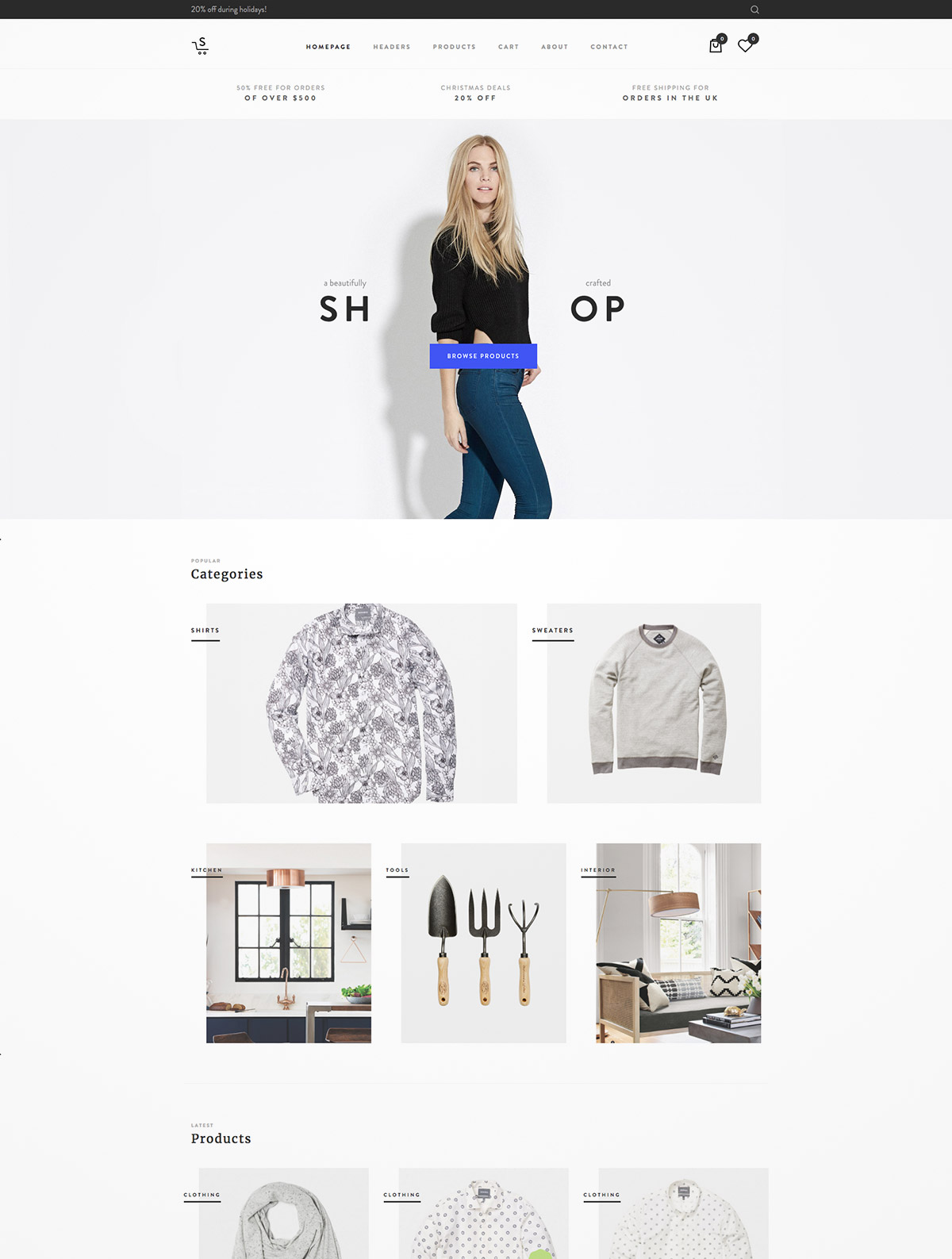 multipurpose ecommerce themes