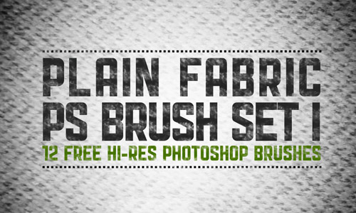 plain fabric brush