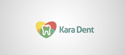 kara dent logo design