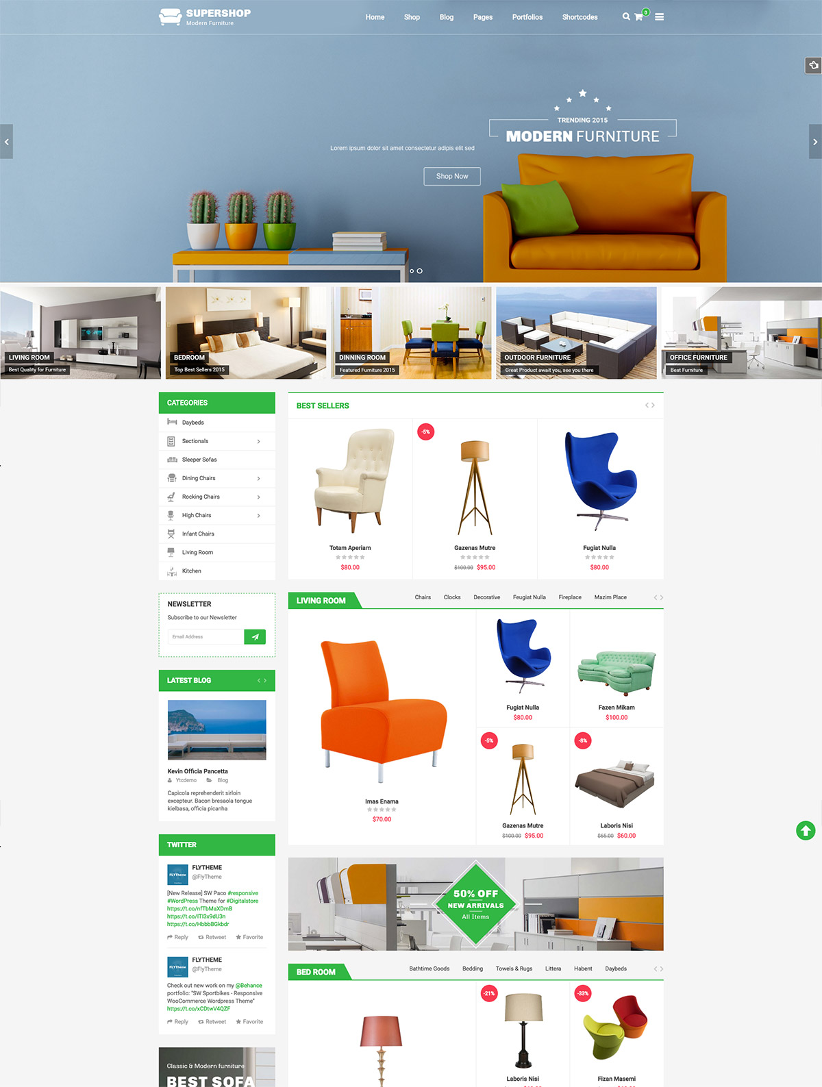 shop online theme