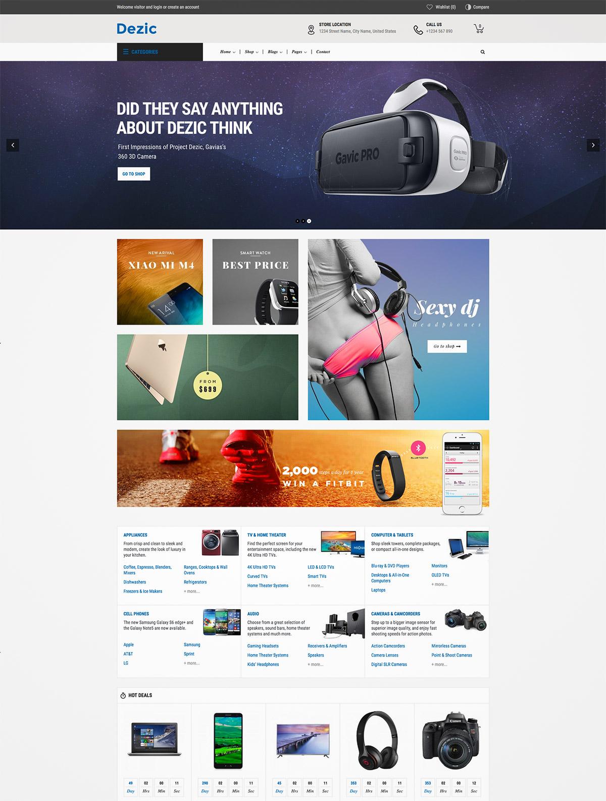 retina ecommerce premium