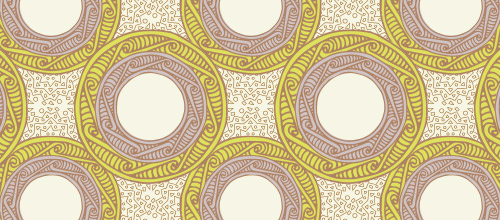 arabesque patterns free circle