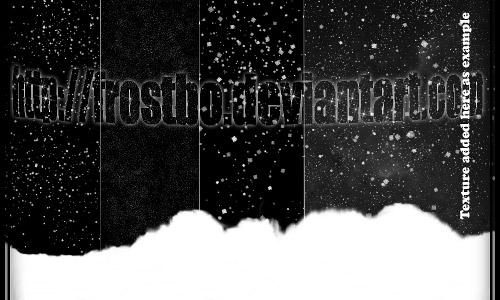 snow drop photoshop brushes
