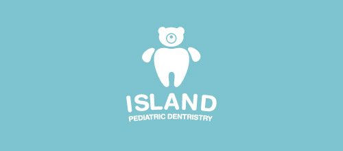 cute dentist logo design