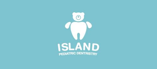 cute dentist logo design