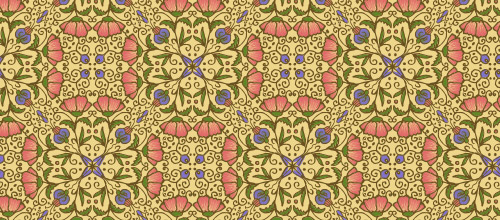 floral arabesque free patterns