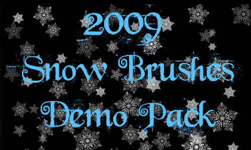 free snow brushes photoshop