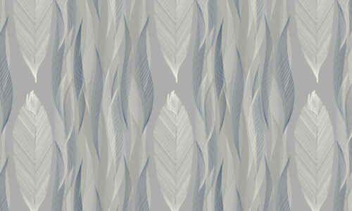 grey feather patterns