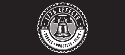 1776 effects bell logo