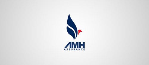 amh assurance logo design