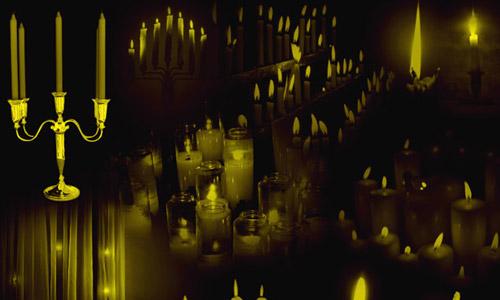 free candle light brushes