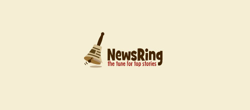 newsring logo bells