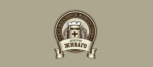 doctor jivago beer logo