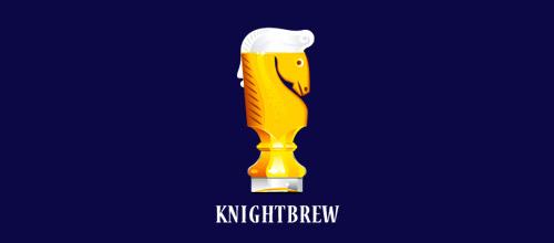 knight brew logo