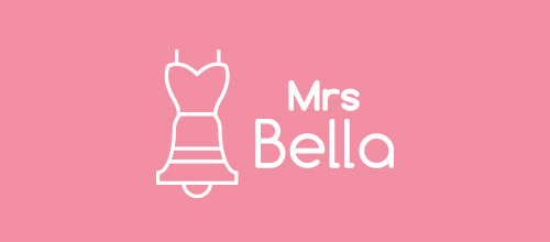 mrs bella logo design