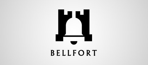 bellfort logo design