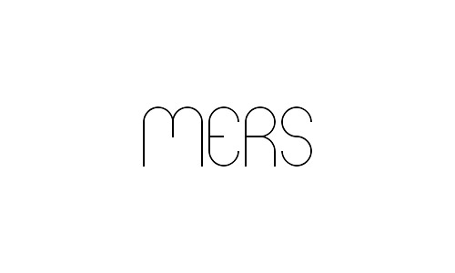 mers free thin fonts