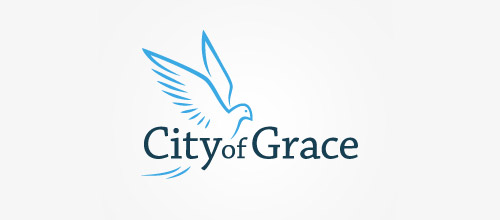 city of grace dove logo