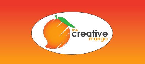 creative mango logo design
