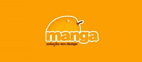 manga logo design