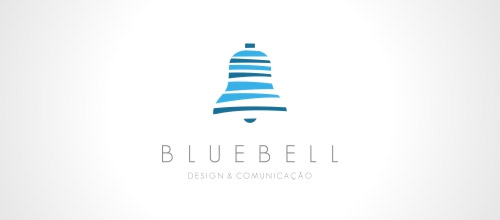 bluebell logo design