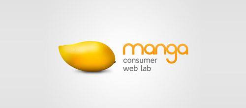 manga web lab logo design