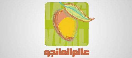 mango world logo design