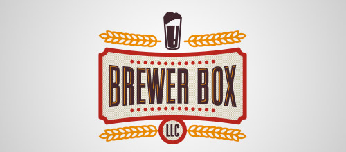 brewer box beer logo