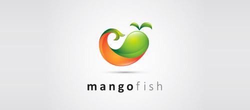 mangofish logo design