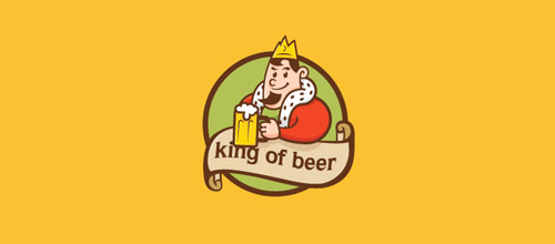 king of beer logo