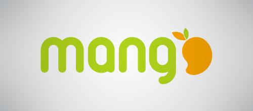 mango studio logo design