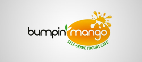 bumpin mango logo