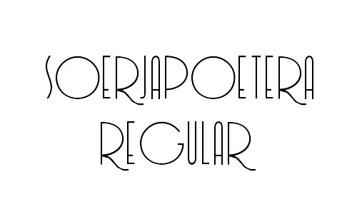 free soerjapoetera free thin fonts