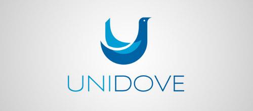 unidove logo design