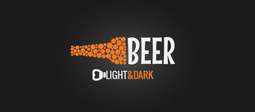 beer bottle logo