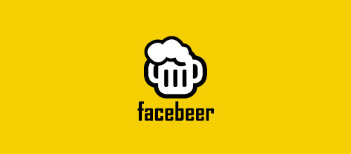 facebeer beer logo