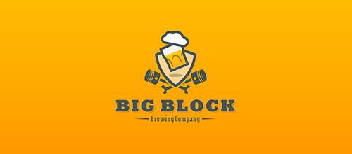 bigblock logo beer