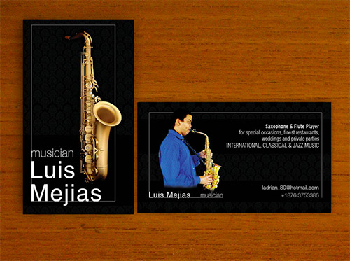 luis mejias business card
