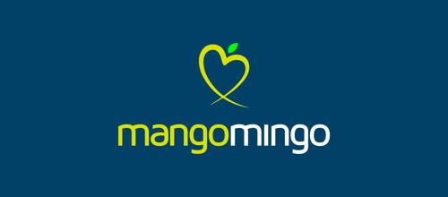 mangomingo logo design