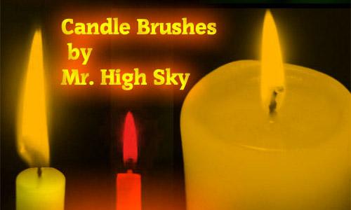 free candle brushes