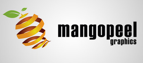 mangopeel logo design
